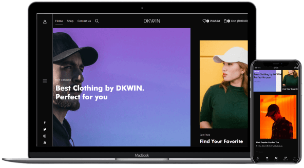 dkwinstore website image